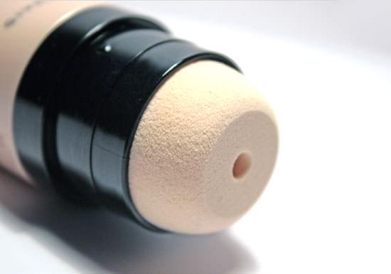 detalle de la esponja