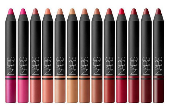 los 13 tonos Satin Lip Pencil