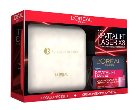 Cofre Revitalift Laser x3 de L'Oreal
