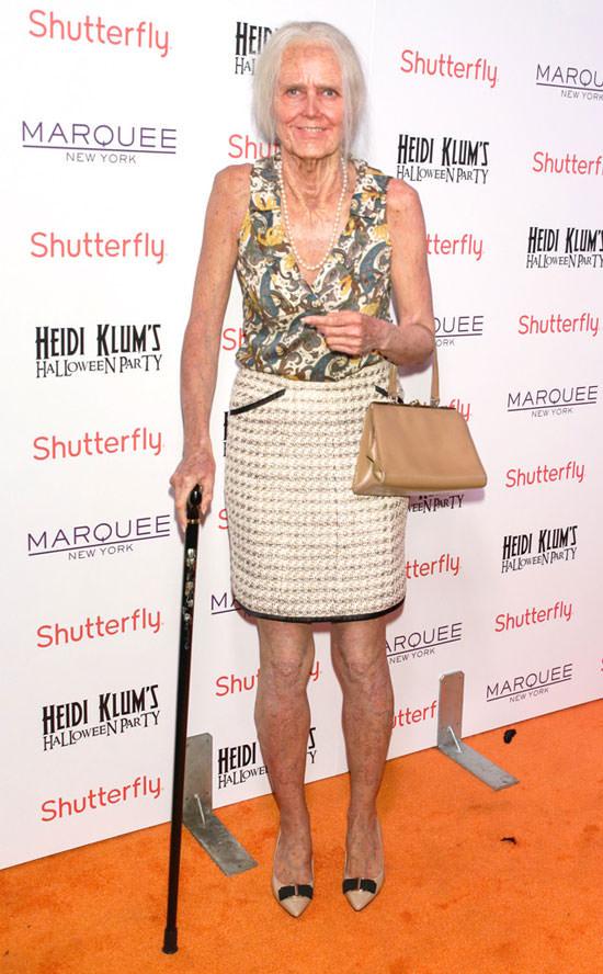 Heidi Klum con su disfraz de Halloween 2013