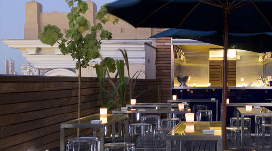 terraza Hotel de las Letras en Gran Vía