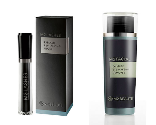 Eyelash Revitalizing Gloss y M2 Facial Eye Make-Up Remover