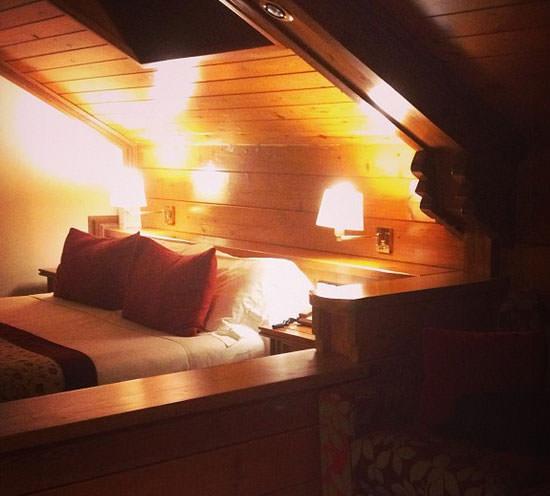hotel Grévol, una habitación
