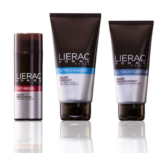 lote de productos Lierac para el día del padre