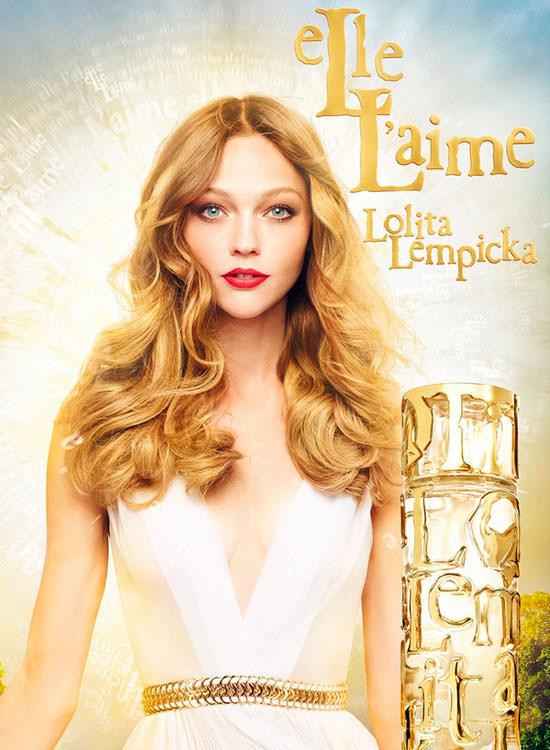 Sasha Pivovarova para Lolita Lempicka