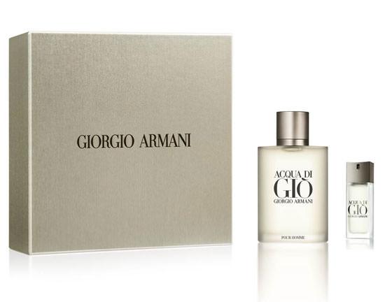 cofre para el día del Padre Giorgio Armani