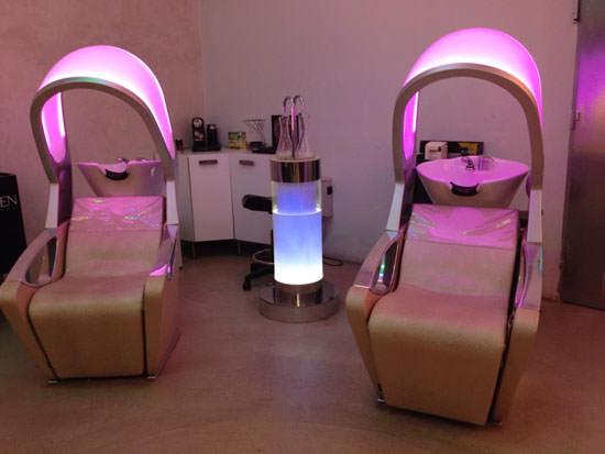 interior peluquería Op/Zon de Madrid