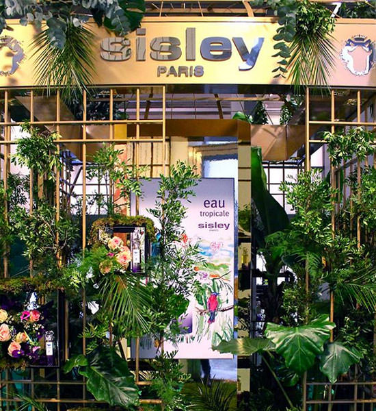 jardín tropical de Sisley