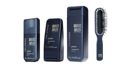 Marlies Möller para el cabello del hombre