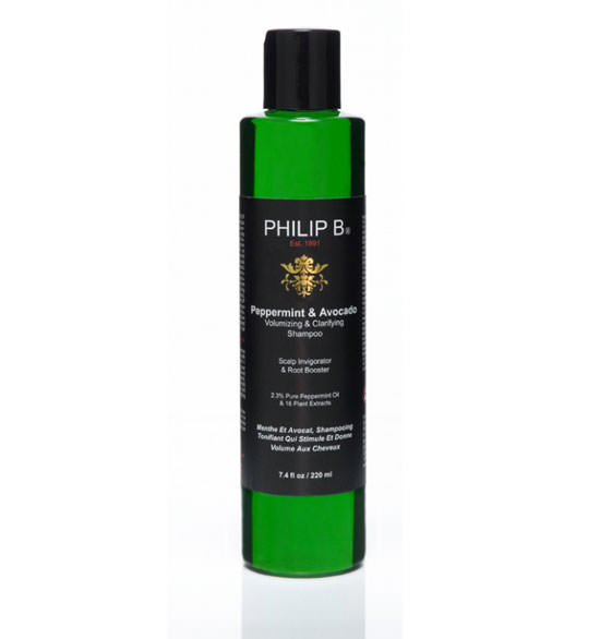 Peepermint & Avocado Volumizing & Clarifying Shampu