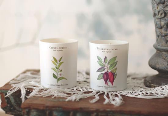 Va de velas aromáticas, las de Carrière Frères