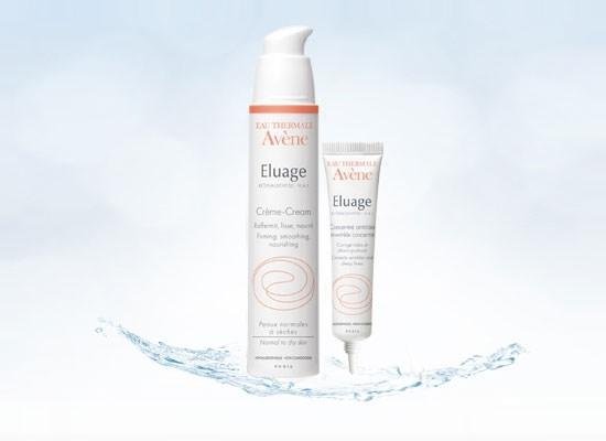 crema y concentrado anti-arrugas Eluage