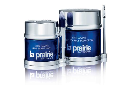 mascarilla y crema corporal Skin Caviar de La Prairie