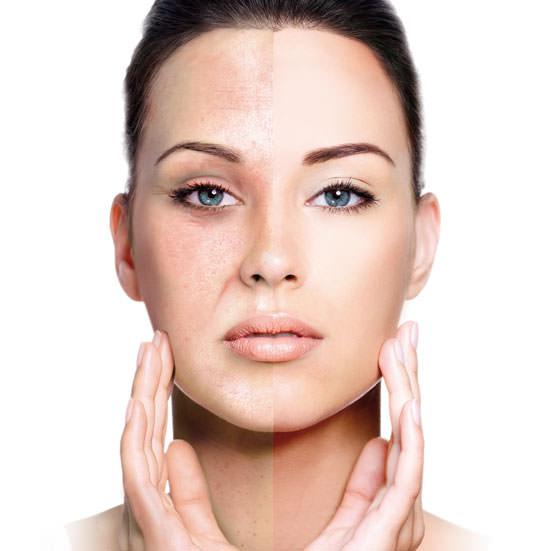 Skin Retouch para rostro, manos y cuello