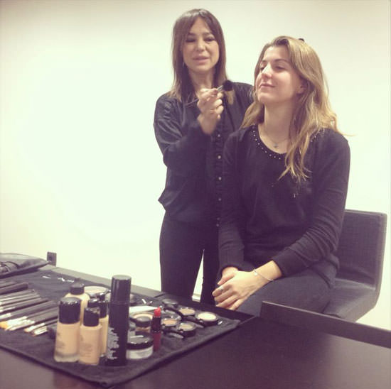 Senior Makeup Artist Maite Tuset