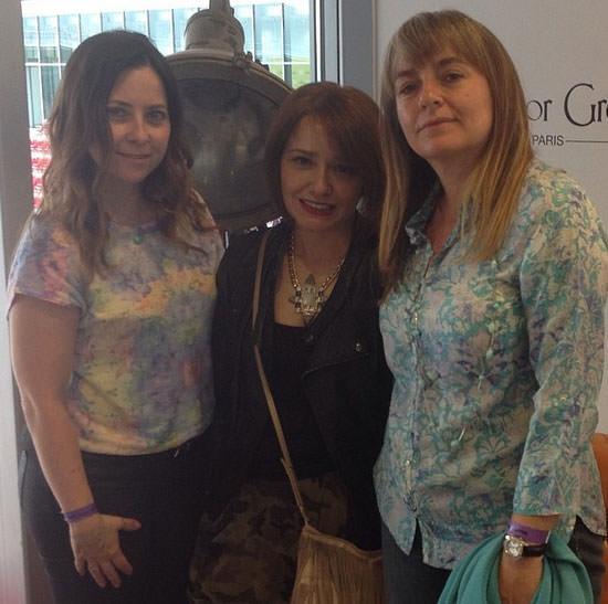 Marisa, Arantza e Inma