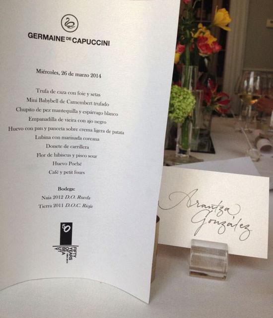 50 aniversario de Germaine de Capuccini en Madrid
