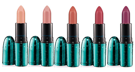 5 tonos nuevos de Alluring Aquatic Lipstick
