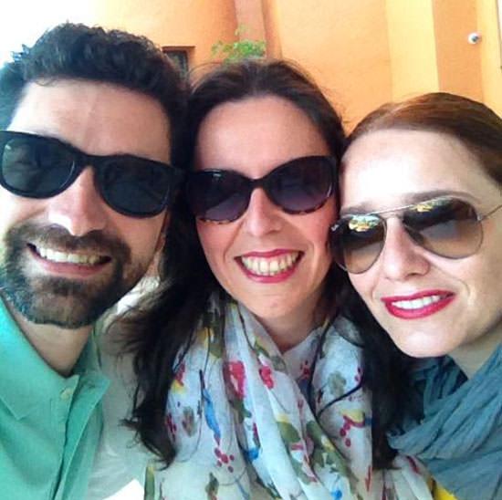 Álvaro, Jazmin y Arantza