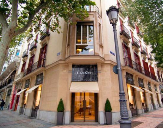 tienda Cartier en Serrano