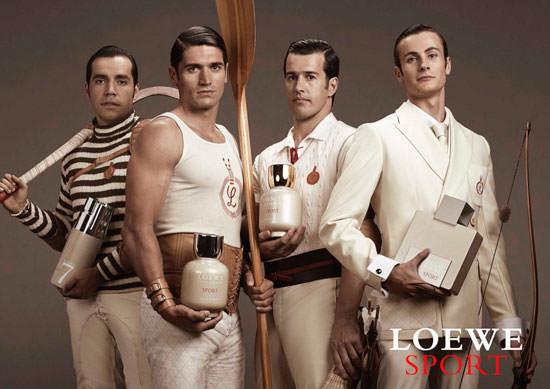 cuatro deportistas españoles para Loewe Sport
