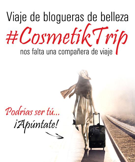 Apúntate a #CosmetikTrip