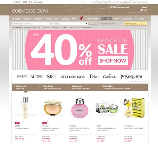 tienda on-line Cosme-de