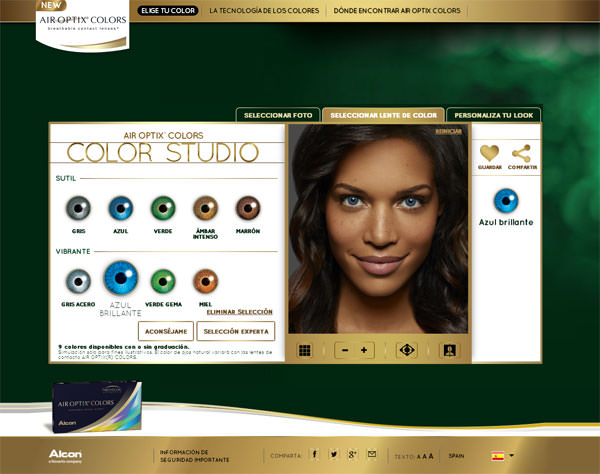 app web lentillas