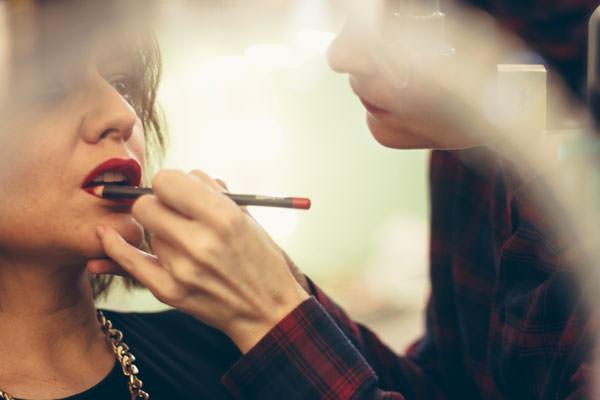 Arantza maquillaje en BajoBé