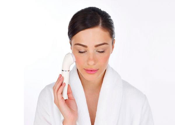 cepillo limpieza facial de Braun