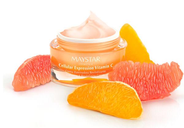 crema iluminadora y revitalizante Vitamina C