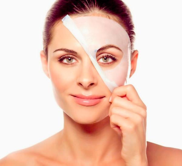 mascarilla facial bio-celulosa