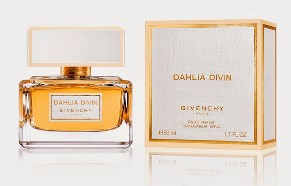 packaging de Dahlia Divin de Givenchy