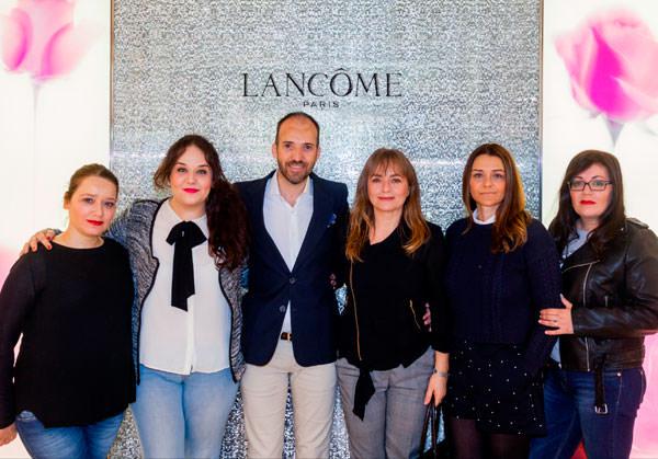 stand que Lancôme tiene en El Corte Inglés de Castellana
