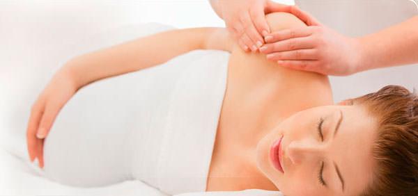 masaje a embarazadas