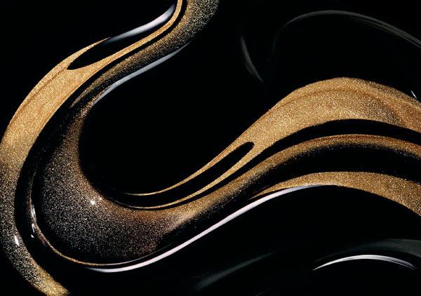 textura crema negra de Givenchy
