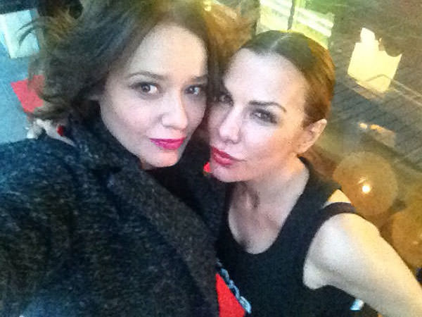 Arantza con Lorena Morlote