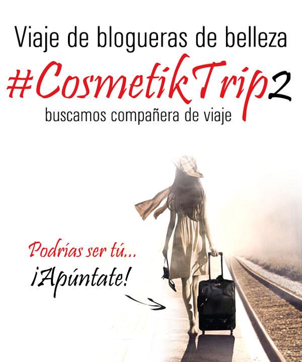 Apúntate a #CosmetikTrip2