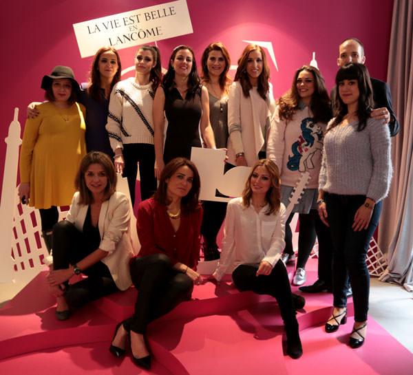 las blogueras del #CosmetikTrip2 junto a Roberto Siguero, susana Arribas y Ana Florez