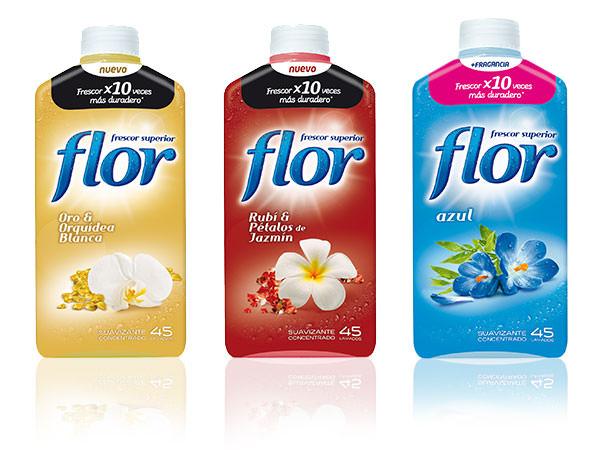 Nuevos suavizantes Flor y el poder de los olores
