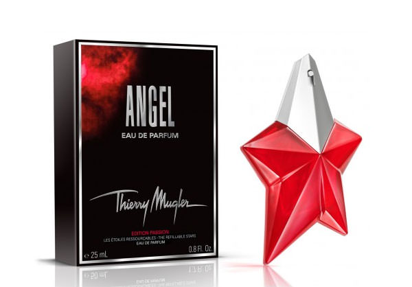 Angel Edition Passion, la estrella roja de Thierry Mugler