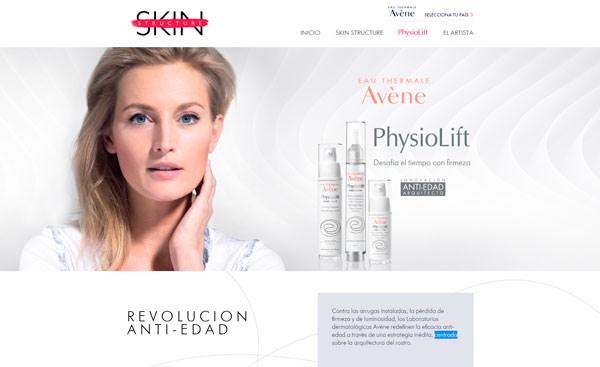 página Skin Structure