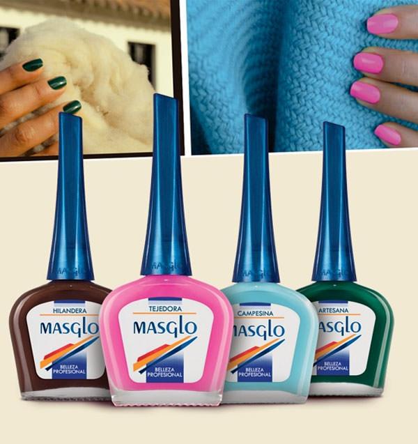 Colección esmalte de uñas Rural de Masglo