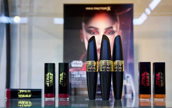 productos de Max Factor inspirados en Strar Wars