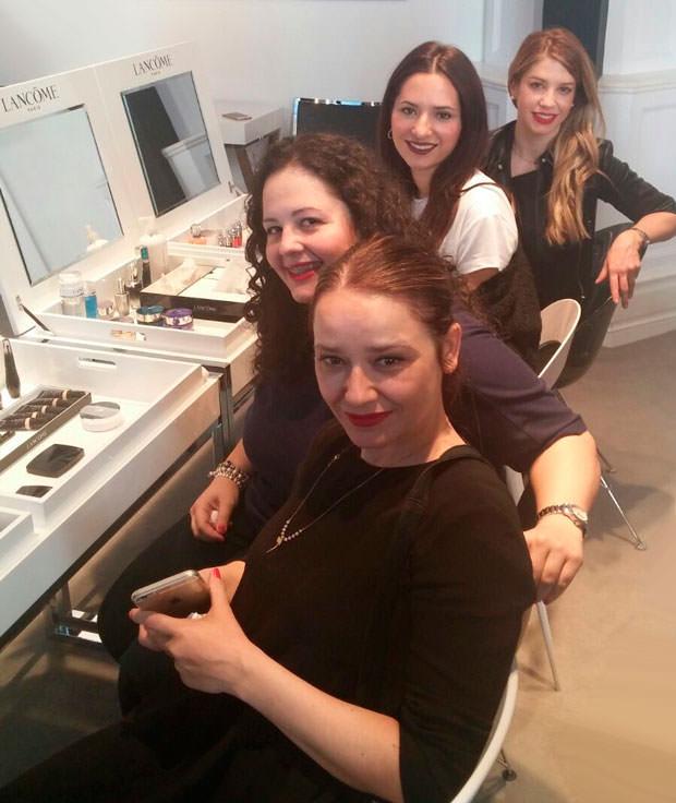 Arantza, Marisa, Isabel y Myriam