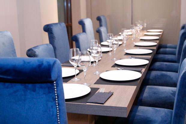 nuestra mesa en el Barbackana
