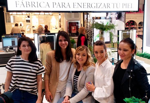 Camino, Nuria, Lucía, Ana y Arantza