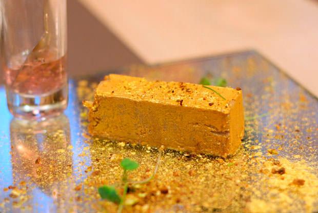 lingote de foie 90 grados