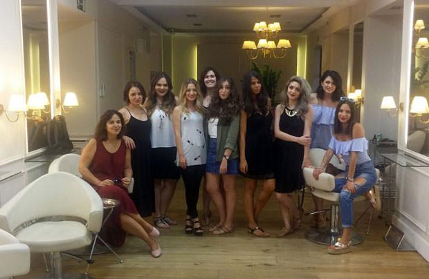 Las participantes del CosmetikTrip5