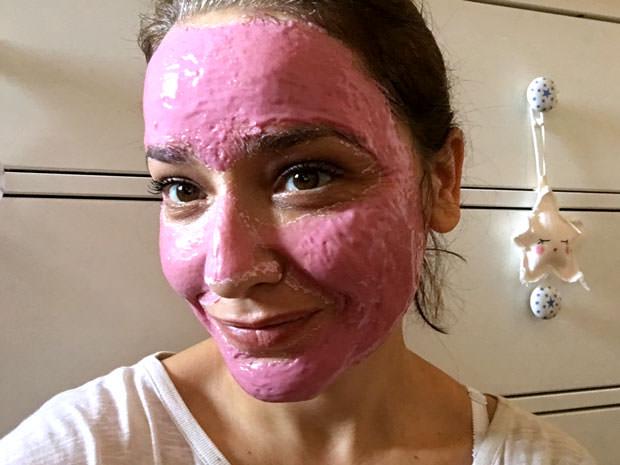 mascarilla rosa de Bioxán